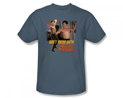 Image Closeup for Star Trek T-Shirt - Don't Mess with Sulu