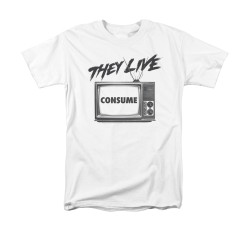 Image for They Live T-Shirt - Consume
