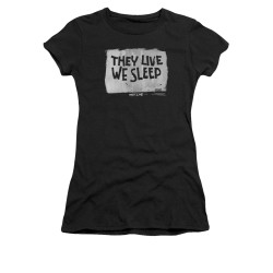 Image for They Live Girls T-Shirt - We Sleep