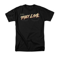 Image for They Live T-Shirt - Glasses Logo