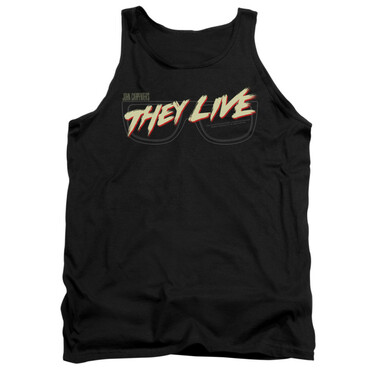 Image for They Live Tank Top - Glasses Logo