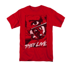 Image for They Live T-Shirt - Graphic Poster