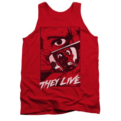 Image for They Live Tank Top - Graphic Poster
