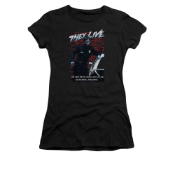Image for They Live Girls T-Shirt - Dead Wrong