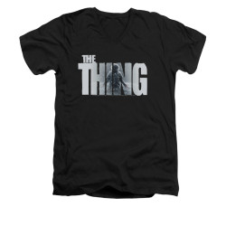 Image for The Thing V-Neck T-Shirt - Logo