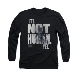 Image for The Thing Long Sleeve T-Shirt - Not Human Yet