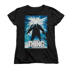Image for The Thing Woman's T-Shirt - Poster