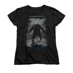 Image for The Thing Woman's T-Shirt - Shine Poster