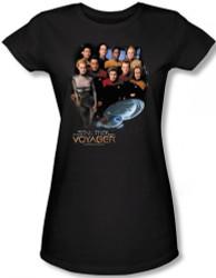 Image for Star Trek Voyager Girls T-Shirt - Crew