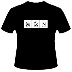Image for Bacon Elements T-Shirt