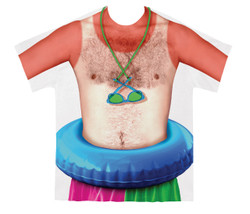 Image for Sunburn Costume Sublimated T-Shirt