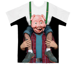 Image for Piggy Back Ride Costume Sublimated T-Shirt