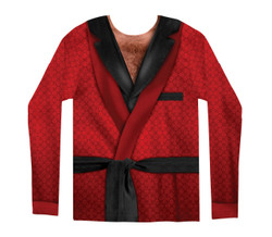Image for Smoking Jacket Costume Sublimated T-Shirt