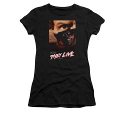 Image for They Live Girls T-Shirt - One Sheet Poster