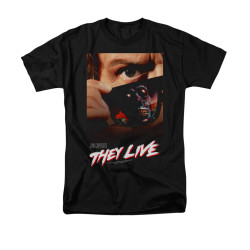 Image for They Live T-Shirt - One Sheet Poster