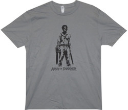 Image for Army of Darkness T-Shirt - Chainsaw and Shotgun