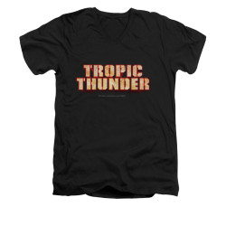 Image for Tropic Thunder V-Neck T-Shirt - Title
