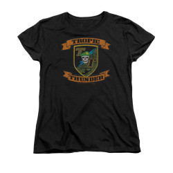 Image for Tropic Thunder Woman's T-Shirt - Patch