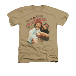 Image for Up In Smoke Heather T-Shirt - Rolled Up