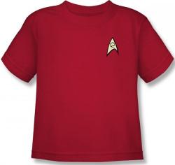 Image for Star Trek Uniform Kids T-Shirt - Engineering