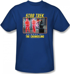 Image Closeup for Star Trek Episode T-Shirt - Episode 37 The Changeling
