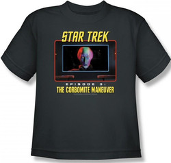 Image for Star Trek Episode Youth T-Shirt - Episode 3 The Corbomite Maneuver