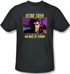 Image Closeup for Star Trek Episode T-Shirt - Episode 9 Balance of Terror