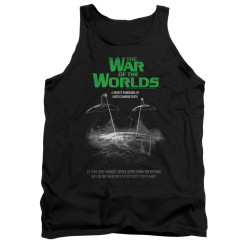 Image for War of the Worlds Tank Top - Attack Poster