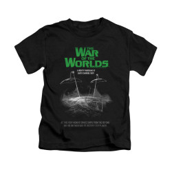 Image for War of the Worlds Kids T-Shirt - Attack Poster