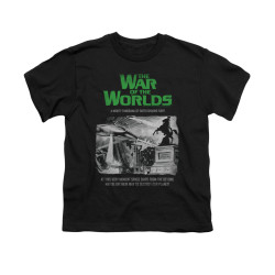 Image for War of the Worlds Youth T-Shirt - Attack People Poster