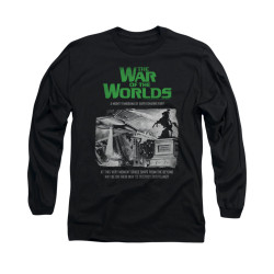 Image for War of the Worlds Long Sleeve T-Shirt - Attack People Poster