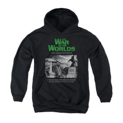 Image for War of the Worlds Youth Hoodie - Attack People Poster