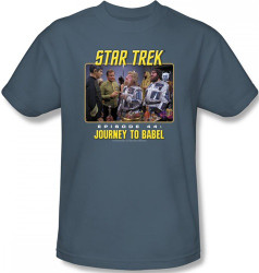 Image Closeup for Star Trek Episode T-Shirt - Episode 44 Journey to Babel