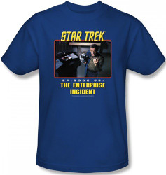 Image Closeup for Star Trek Episode T-Shirt - Episode 59 The Enterprise Incident