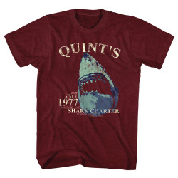 Image for Jaws T-Shirt - Quints Charter