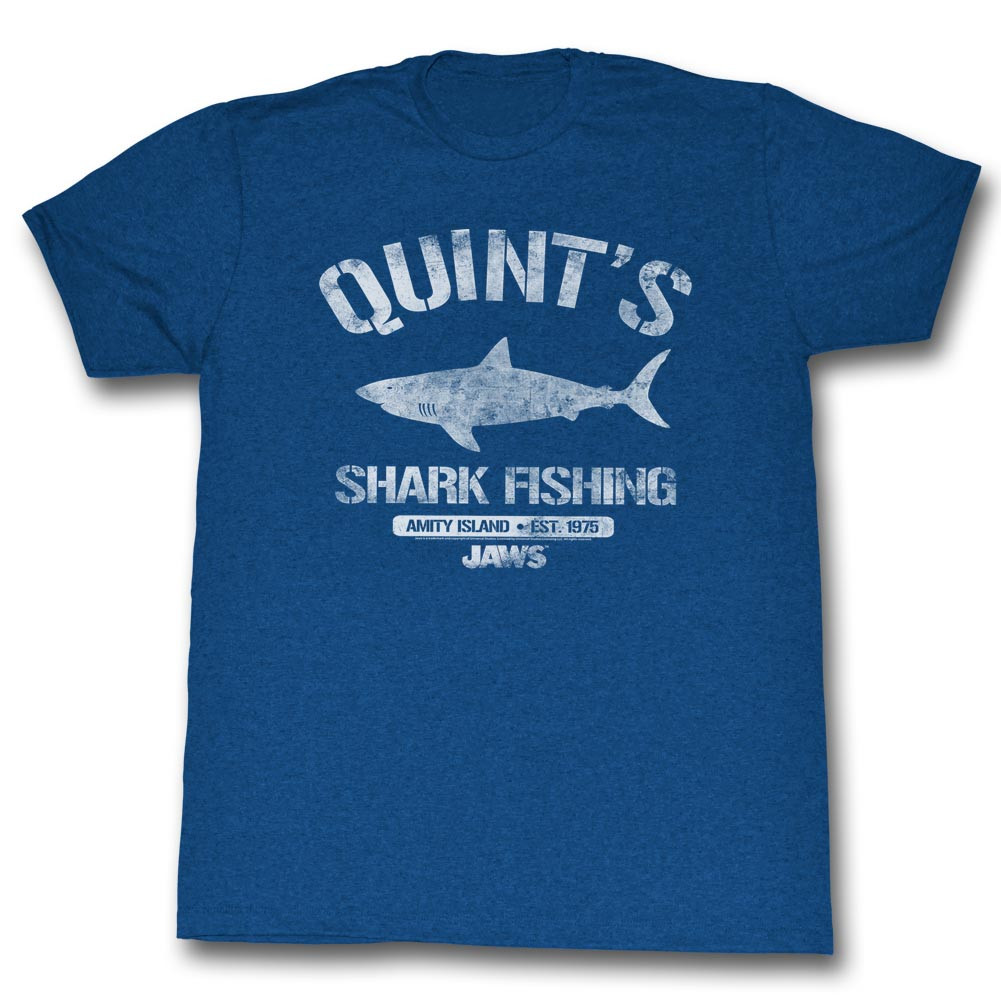 7e36dce3 Jaws T-Shirt - Quint's Shark Fishing - NerdKungFu