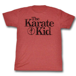 Image for Karate Kid T Shirt - Red Logo