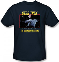 Image Closeup for Star Trek Episode T-Shirt - Episode 35 The Doomsday Machine