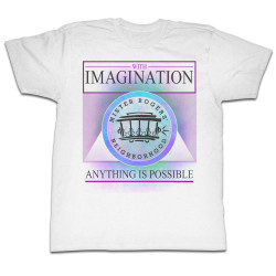 Image for Mr Rogers T Shirt - Imagination
