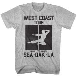 Image for Bruce Lee West Coast Tour T-Shirt