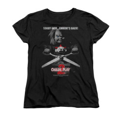 Image for Child's Play Woman's T-Shirt - Jack Poster