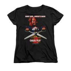 Image for Child's Play Woman's T-Shirt - Chucky's Back