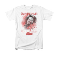 Image for Child's Play T-Shirt - Play Time's Over