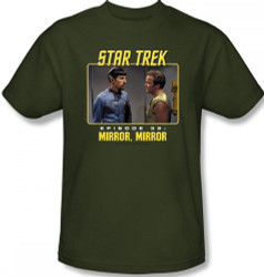 Image Closeup for Star Trek Episode T-Shirt - Episode 39 Mirror Mirror