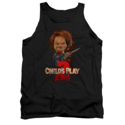Image for Child's Play Tank Top - Here's Chucky