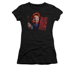 Image for Child's Play Girls T-Shirt - Good Guy