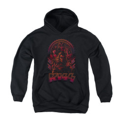 Image for Kiss Youth Hoodie - Comic Style