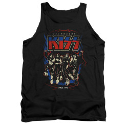 Image for Kiss Tank Top - Destroyer