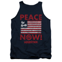 Image for Woodstock Tank Top - Peace Now