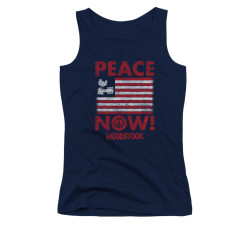 Image for Woodstock Girls Tank Top - Peace Nows